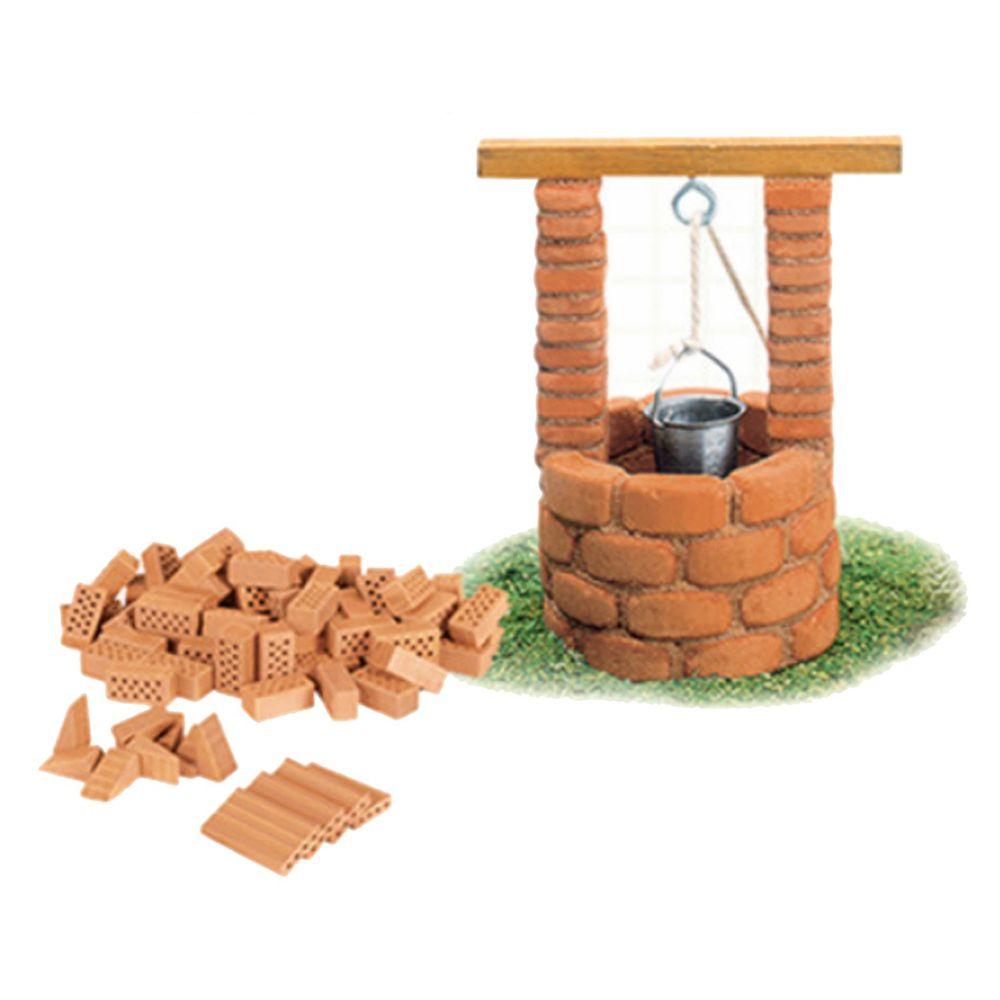 德國 teifoc - 益智磚塊建築玩具-迷你水井-TEI1065-團購專案
