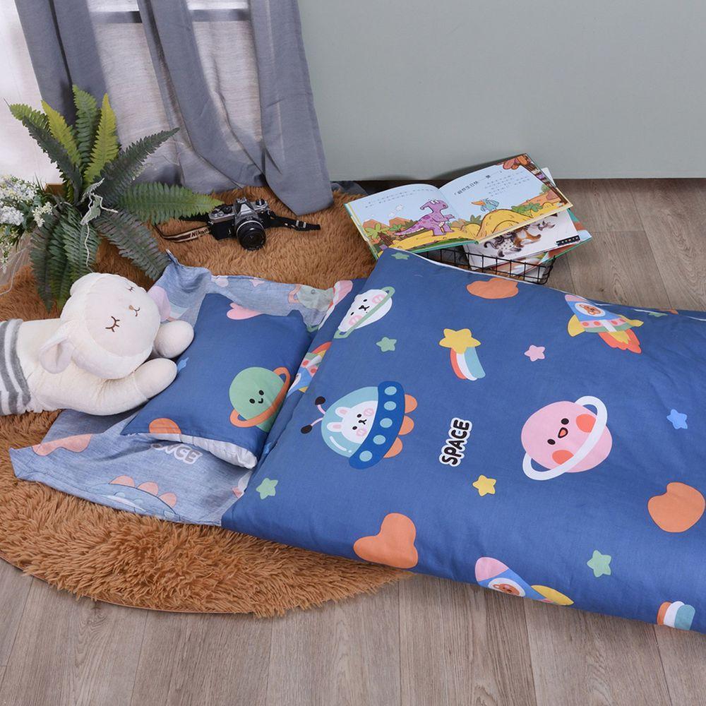 日本濱川佐櫻 - MIT純棉冬夏兩用兒童睡袋-星球旅行
