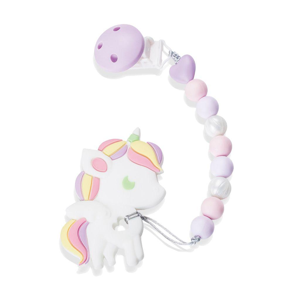 Sweet Little monster - 怪獸寶貝系列 - 固齒器-紫羅蘭獨角獸