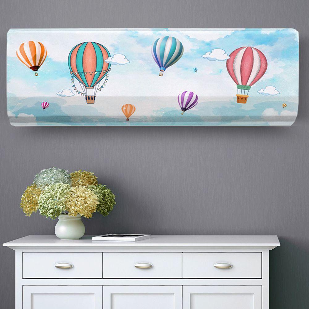 家用冷氣防塵罩-彩色熱氣球