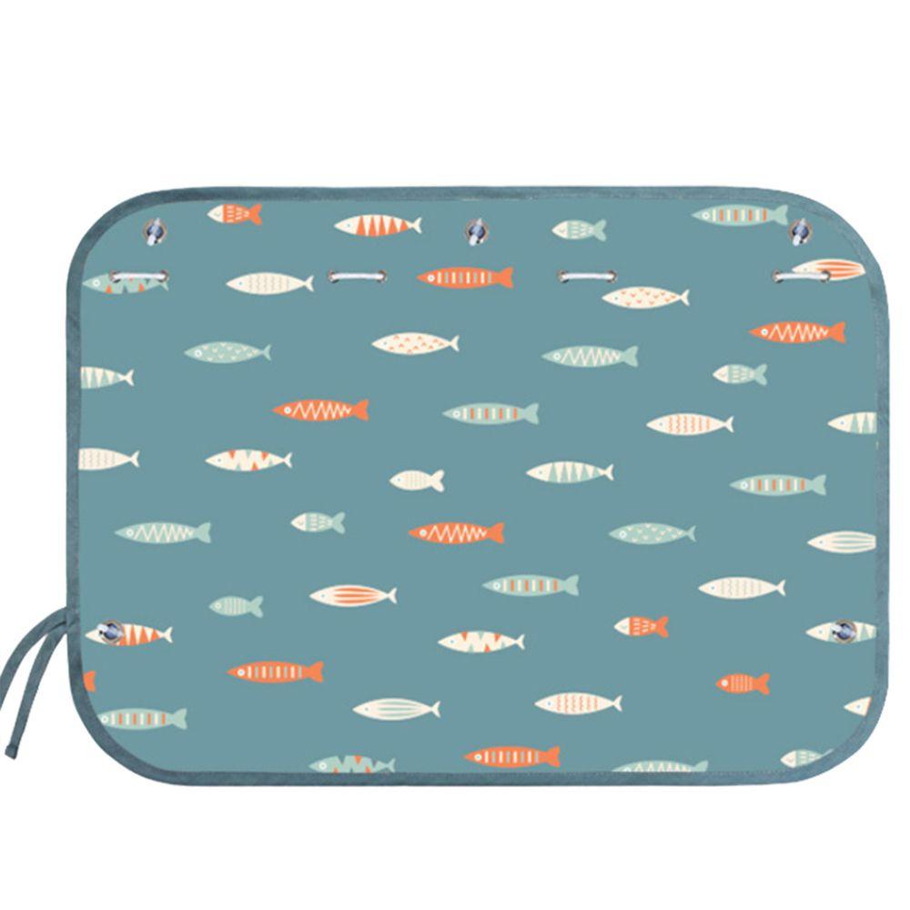 JoyNa - JoyNa車用吸盤式遮光布簾-小魚