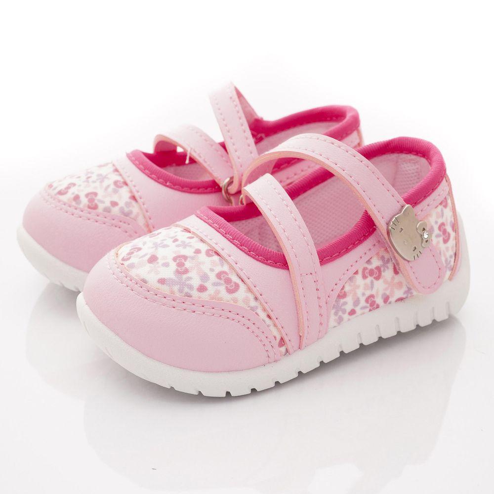 HELLO KITTY - 輕巧休閒娃娃鞋款(小童段)-粉