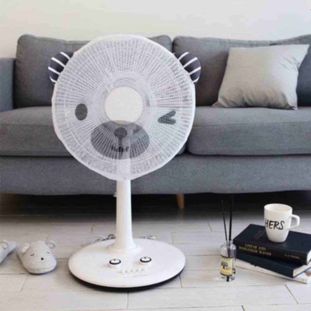韓國 Bebe Deco - 電風扇安全網套-眨眼小熊