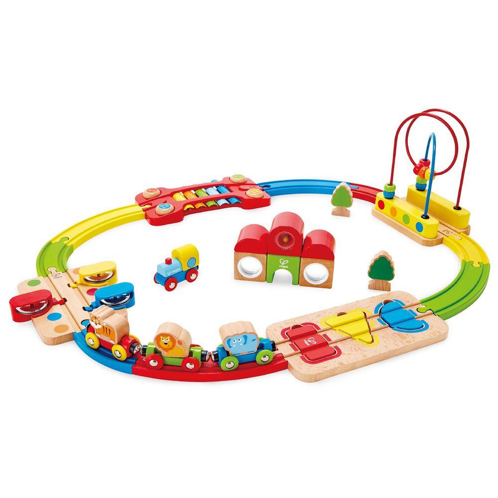 Hape - 彩虹音樂木製軌道玩具(木製軌道玩具)