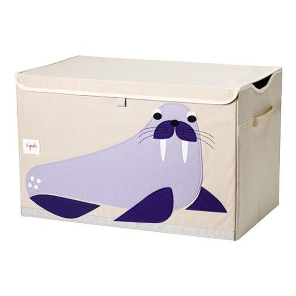 加拿大 3 Sprouts - 大型玩具收納箱-海象