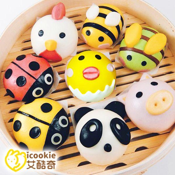 【艾酷奇icookie】超可愛造型包子 ✮ 玉米豬肉、絲瓜豬肉新口味!