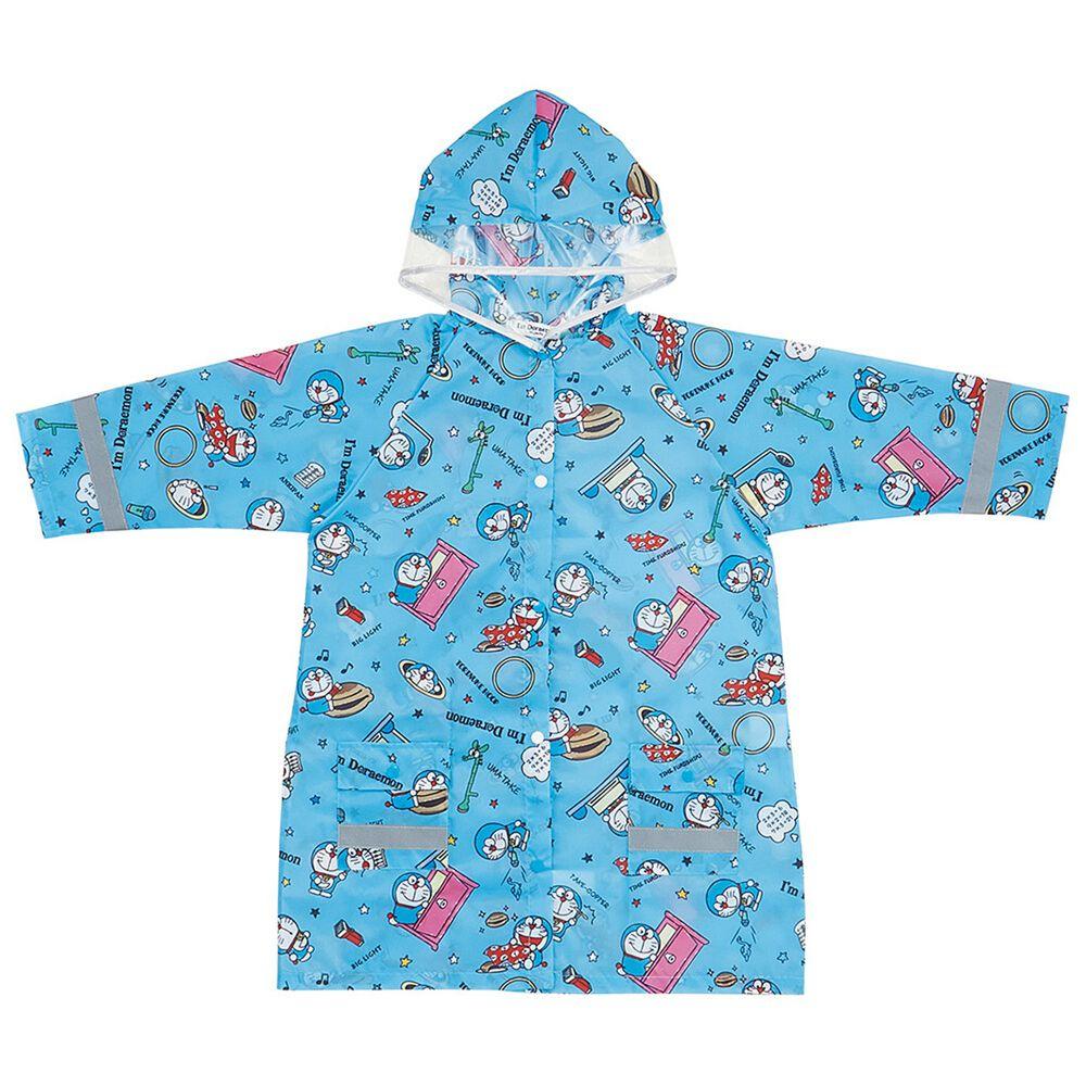 日本 SKATER 代購 - 兒童雨衣(附安全反光貼條)-哆拉A夢 (110~125cm通用)