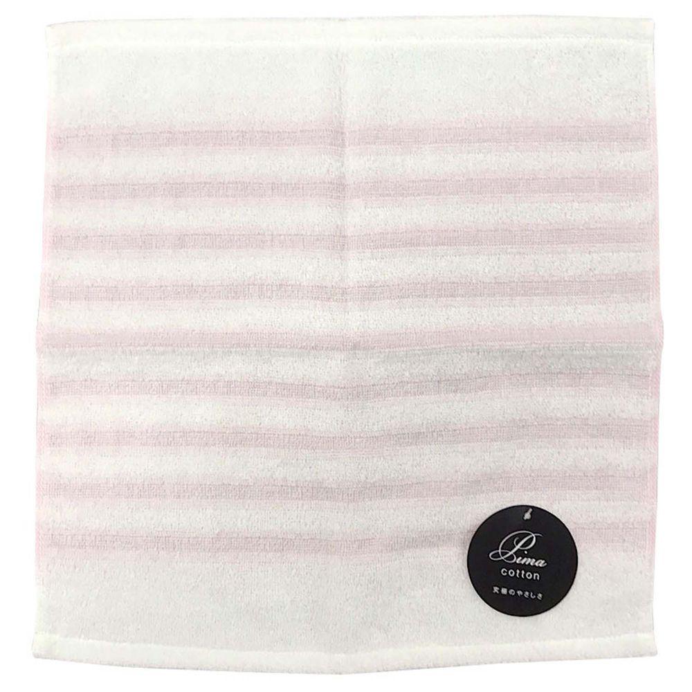 akachan honpo - 泉州毛巾 上等波紋-粉紅色 (34×35cm)