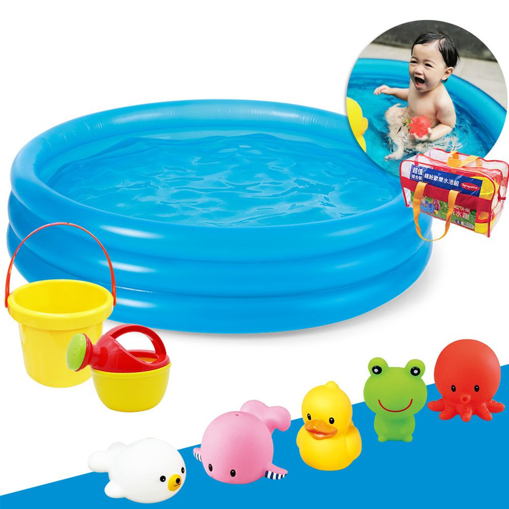 日本 Toyroyal 樂雅 - 繽紛歡樂水池組