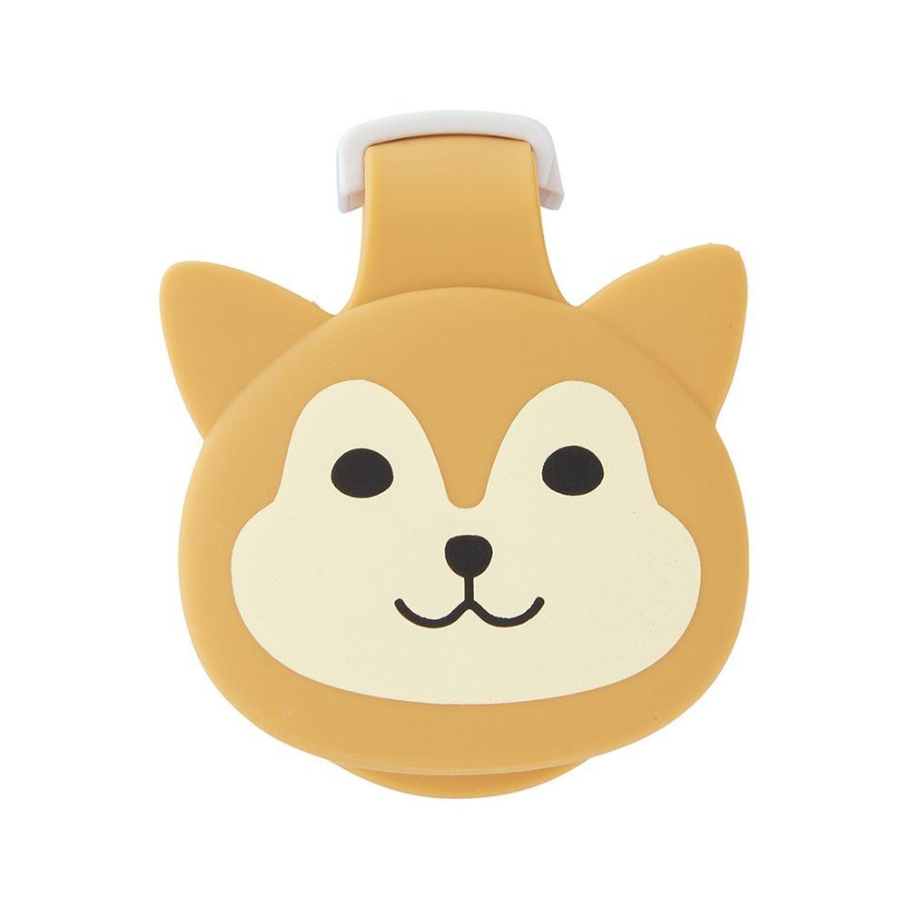 日本文具 LIHIT - 紙膠帶切割器(附磁鐵)-柴犬