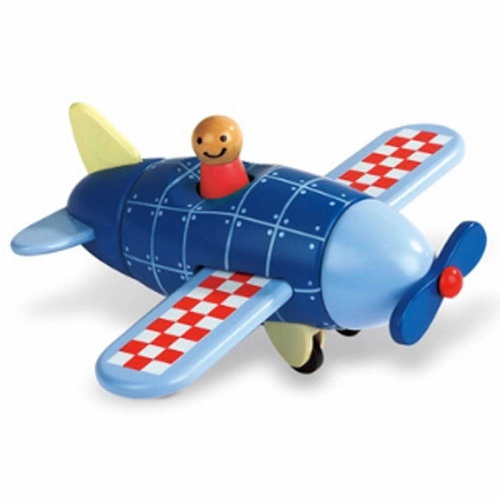 Janod - 磁性拼裝積木-螺旋槳飛機
