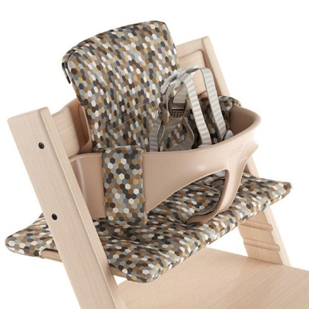 Stokke - Tripp Trapp 成長椅經典座墊(不含椅子本體)-莫蘭迪萬花筒