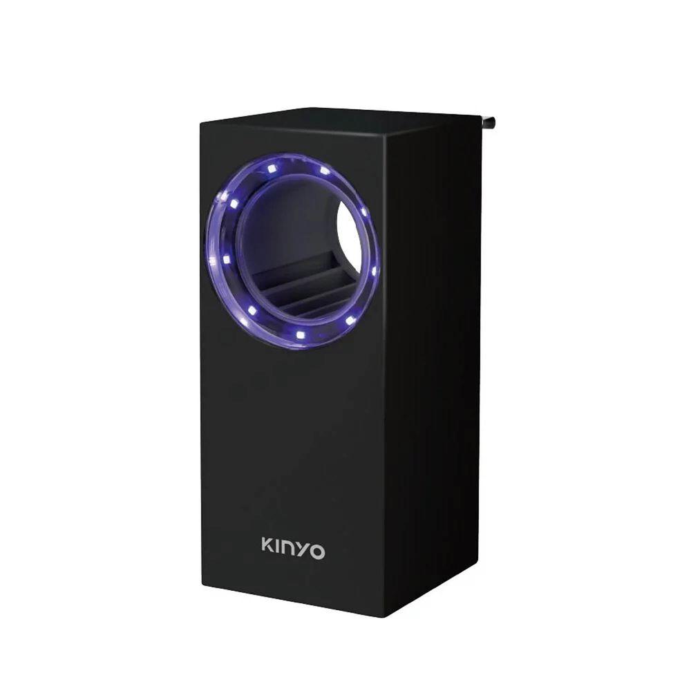 KINYO - 光控吸入捕蚊燈-黑色 (W8.8xH20xD8.9cm)