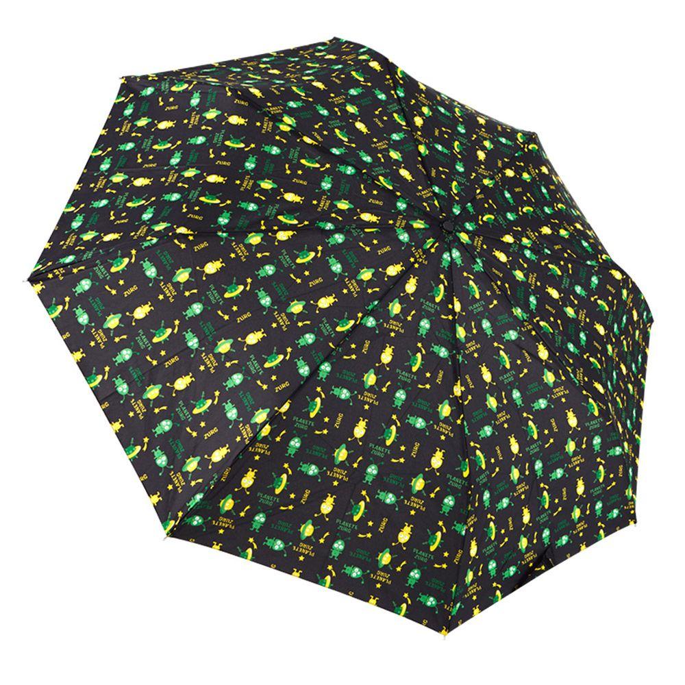 Rainstory - 抗UV雙人自動傘-UFO寶寶