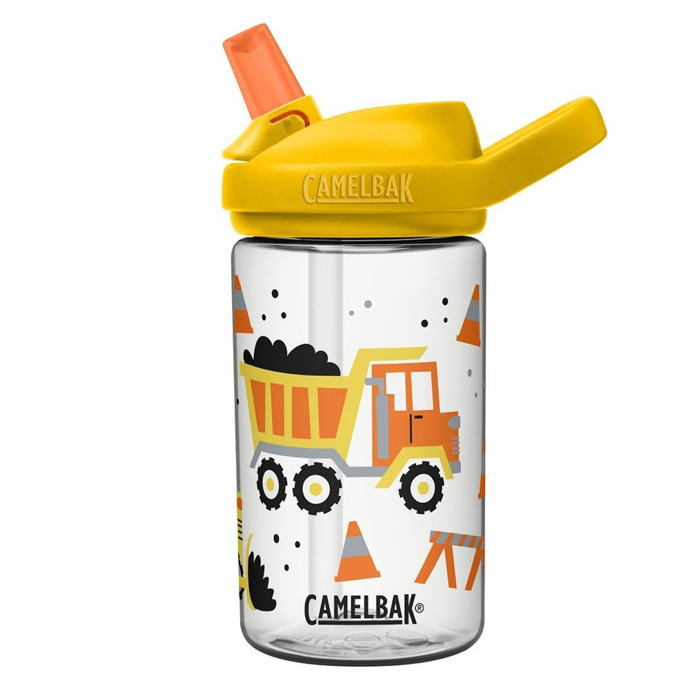 CamelBak - EDDY+ 兒童吸管運動水瓶-轟隆挖土車 (400ml)-專案