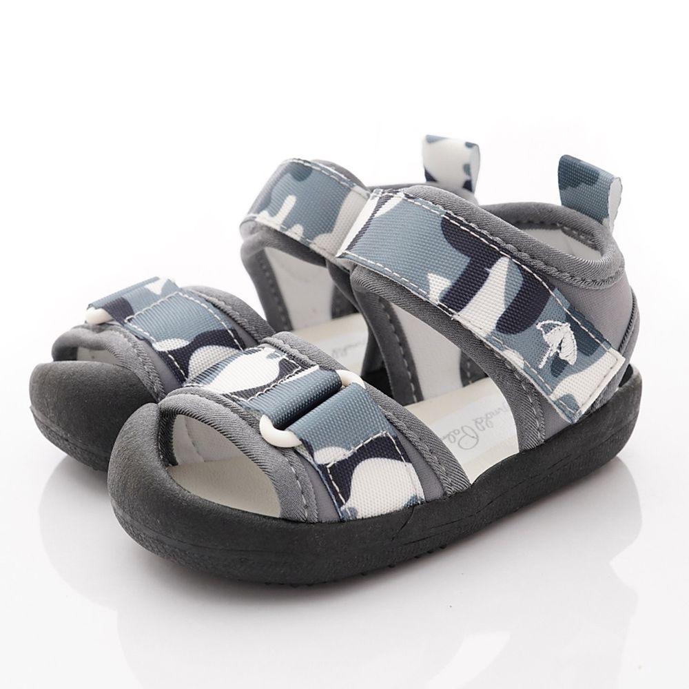 Arnold Palmer 雨傘牌 - 專櫃迷彩超輕涼鞋(寶寶段)-灰