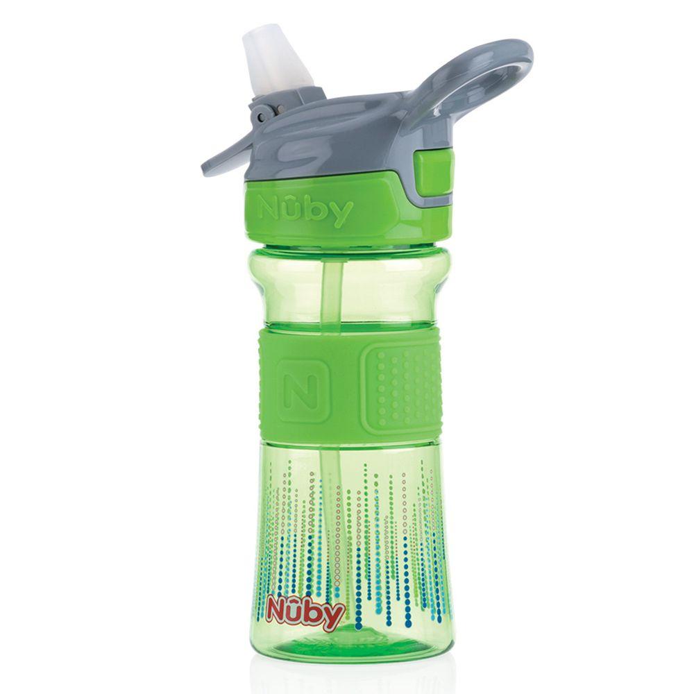 Nuby - Tritan運動水杯兒童水壺-綠
