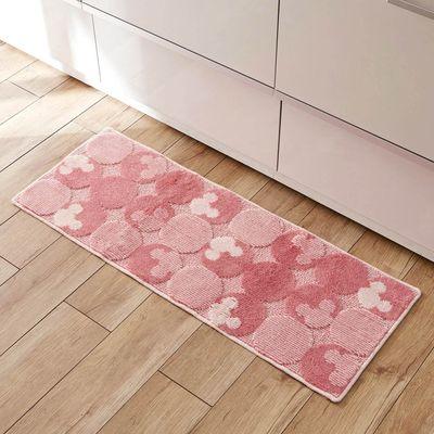迪士尼 日本製 抗菌防臭長型腳踏墊(廚房/臥室)