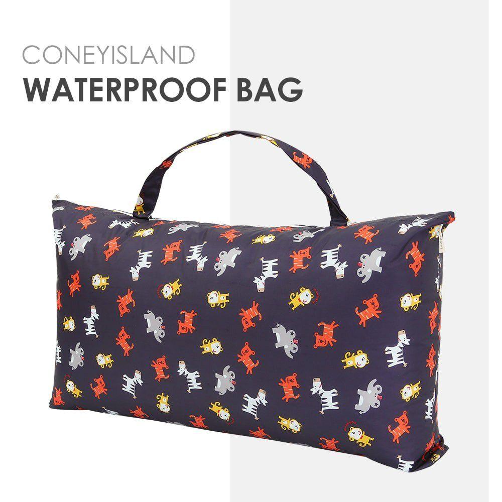韓國 Coney Island - 加大版防水睡袋收納袋-可愛動物園 (81.5*42.5*15cm)
