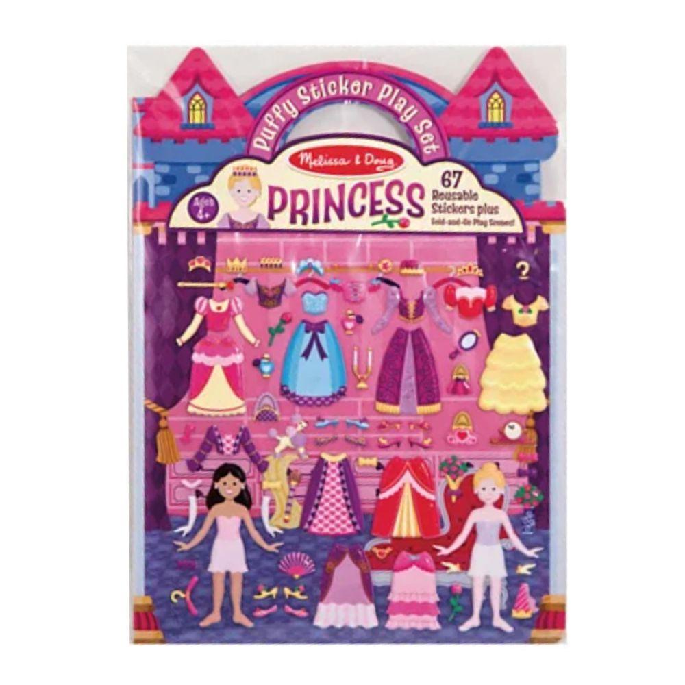 美國瑪莉莎 - MD 貼紙簿-泡泡貼,公主舞會