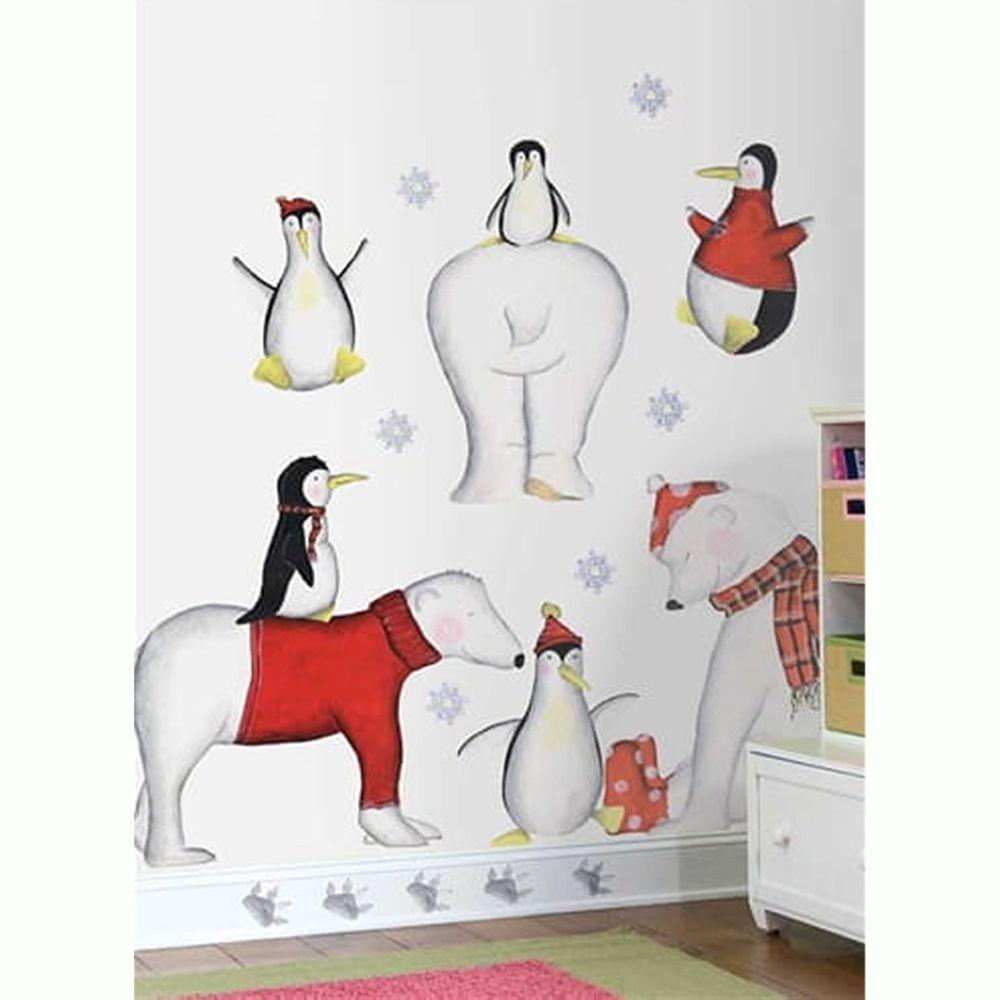 美國Roommates - 美國進口超大壁貼-北極熊