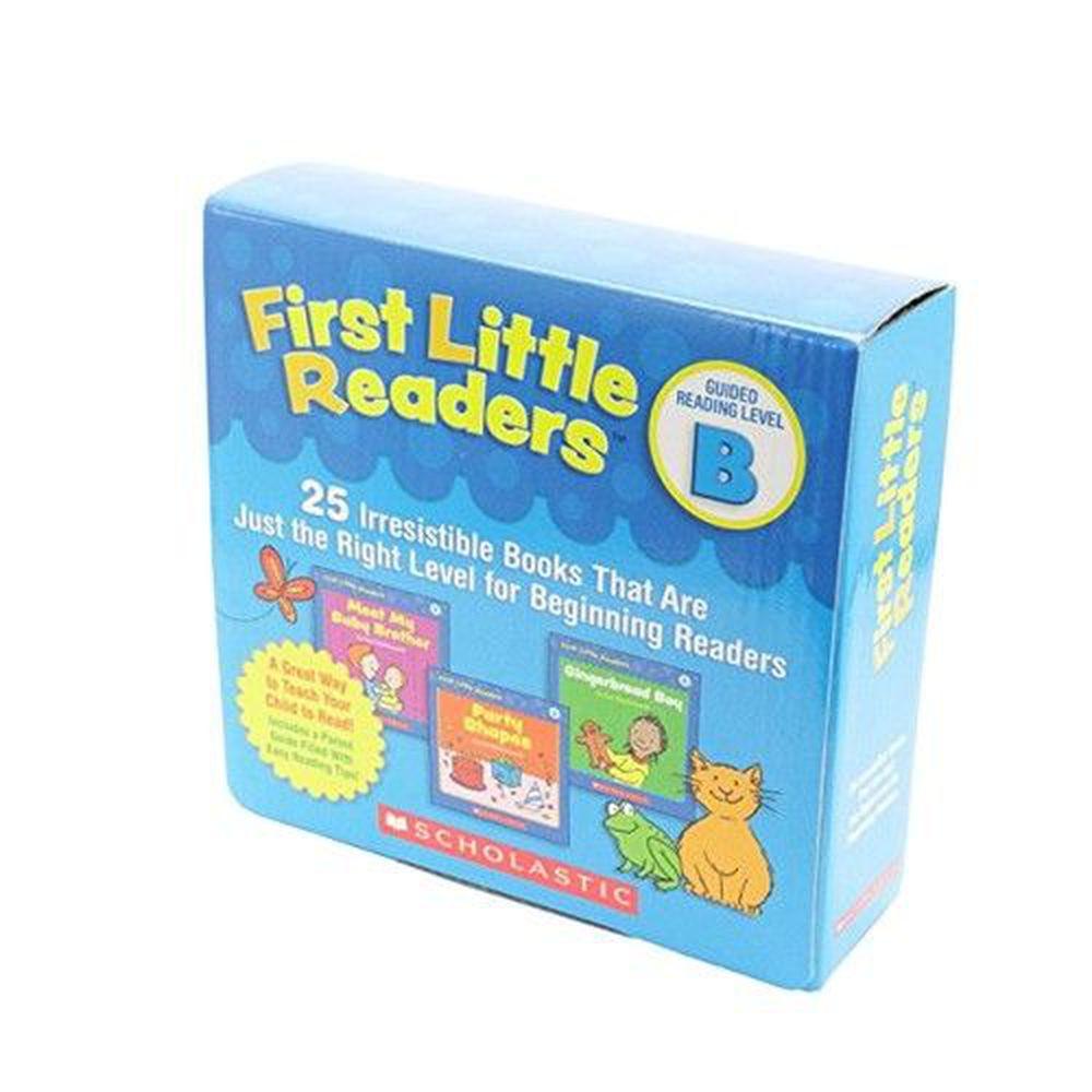 我的第一套小小閱讀文庫First Little Readers Level B-25本小書+1CD