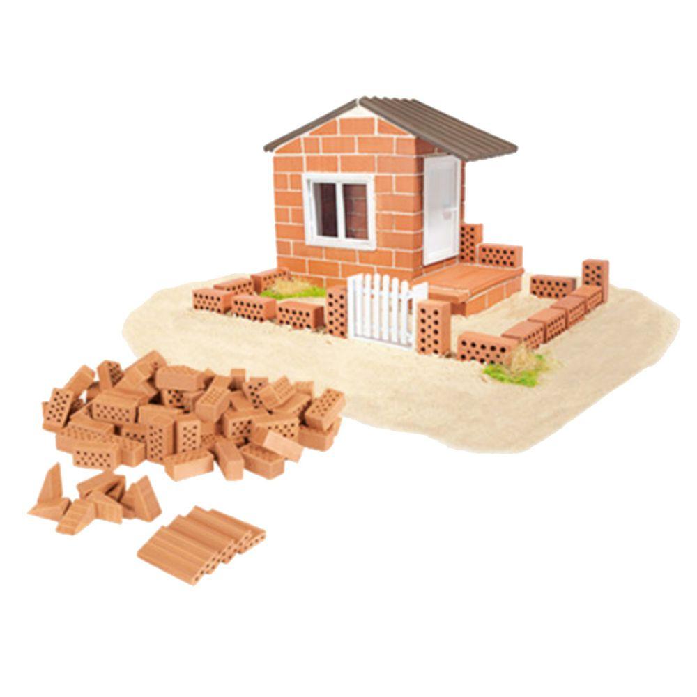 德國 teifoc - 益智磚塊建築玩具-夏季別墅-TEI4500