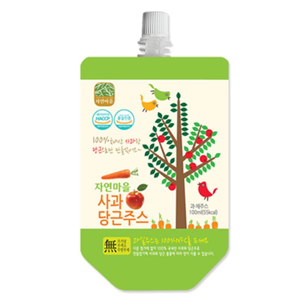 韓國自然村 - 果汁-蘋果紅蘿蔔-100ml