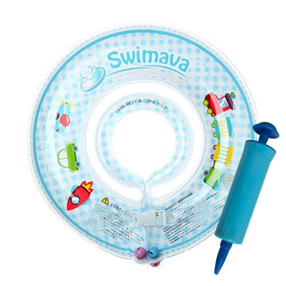 Swimava - G1嬰兒游泳脖圈-火車 (1-18個月,13kg以內)