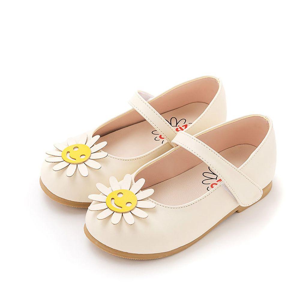 韓國 OZKIZ - 開心花朵皮鞋