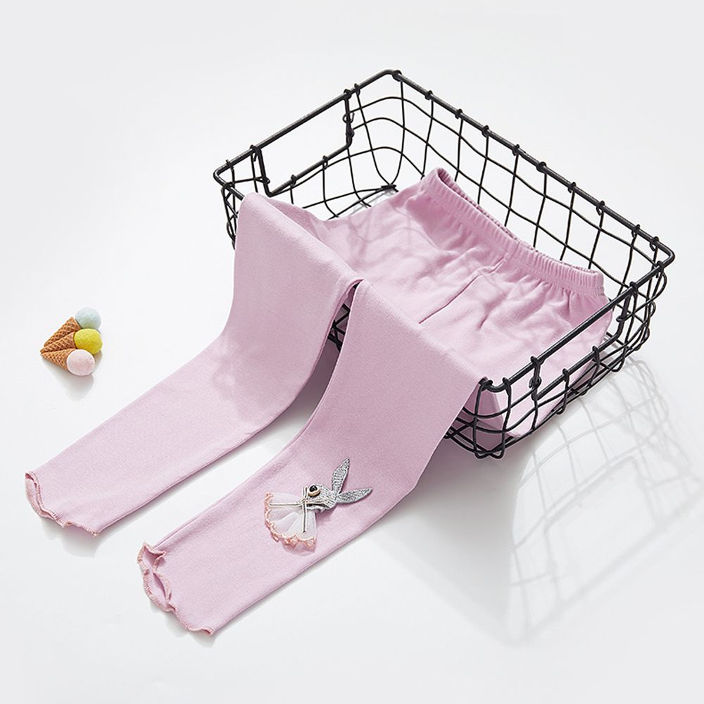 ZIHOU - 可愛立體內搭褲-小兔子-紫色