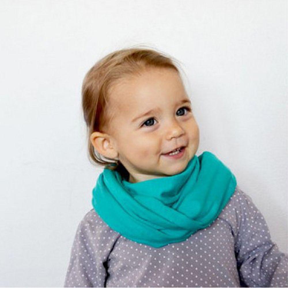 maylily - 兒童圍脖-綠色-1-7y