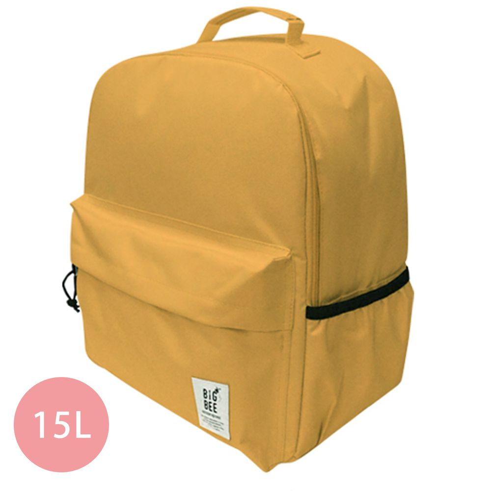 日本 Big Bee - 保冷機能大容量後背包-芥末 (35x43cm)-15L