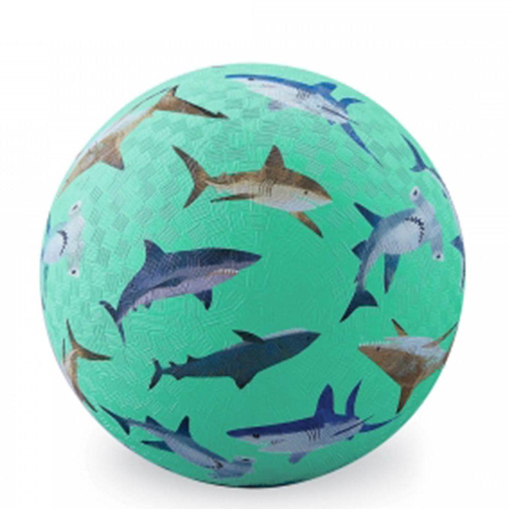 "Crocodile Creek - 7""兒童運動遊戲球-鯊魚世界"