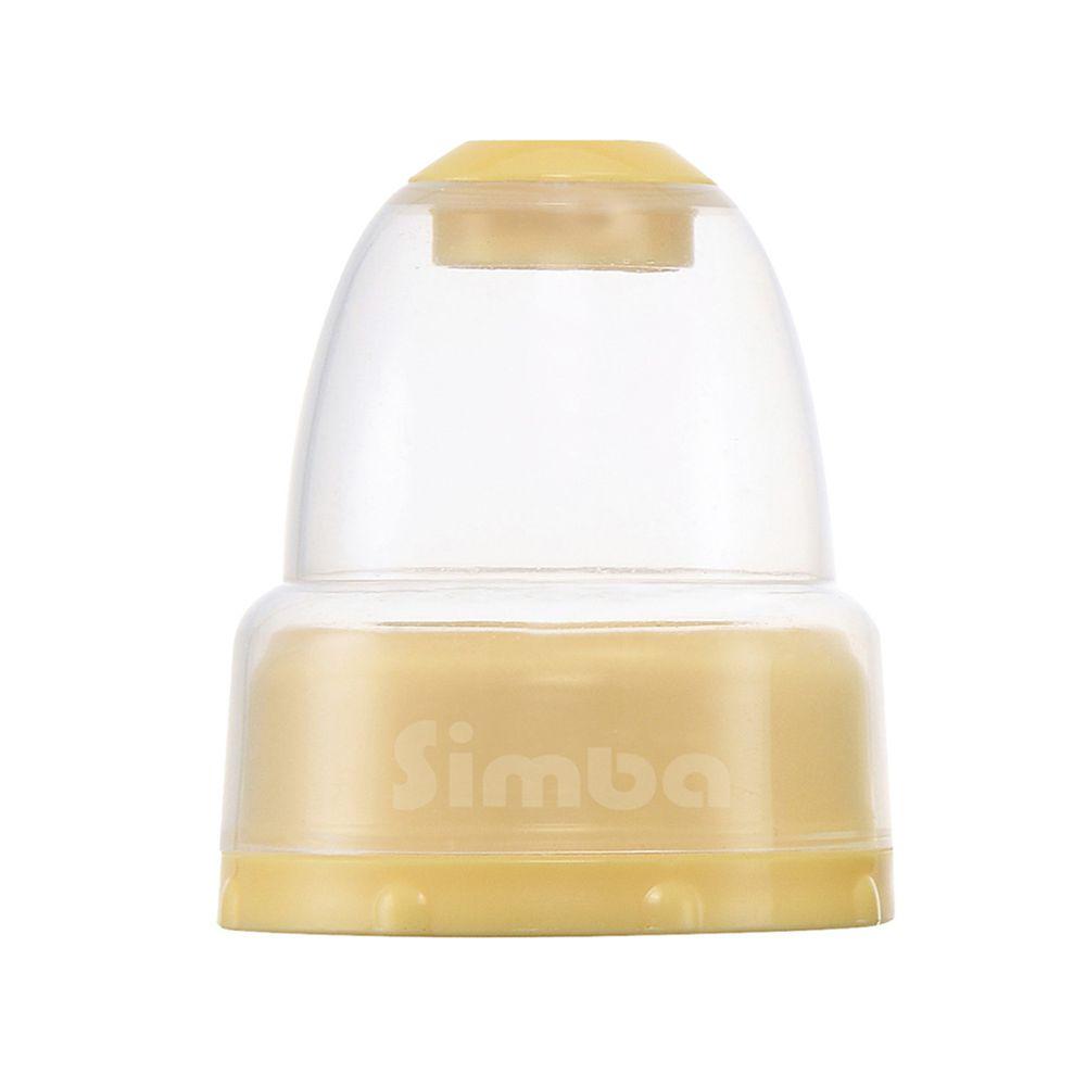 Simba 小獅王辛巴 - 不滴水標準瓶蓋組-溫暖橘