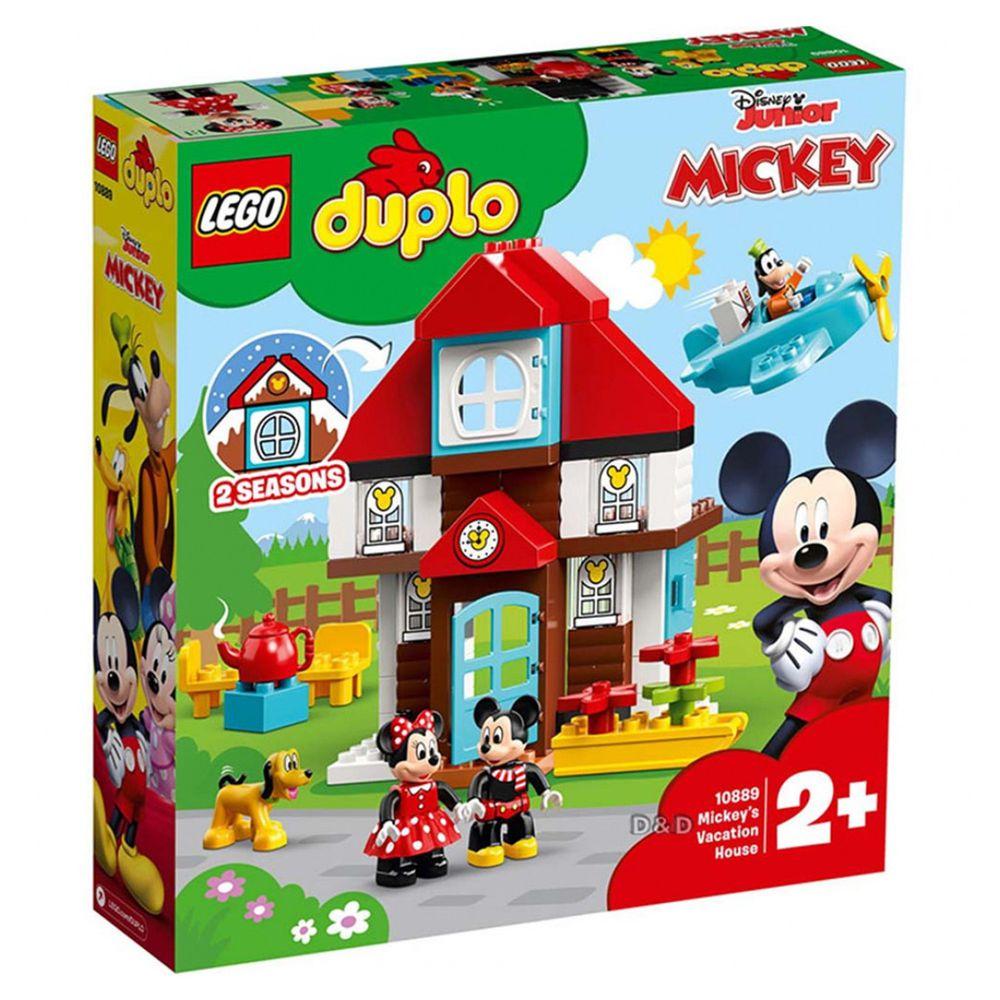 樂高 LEGO - 樂高 Duplo 得寶幼兒系列 - Mickey's Vacation House 10889-57pcs