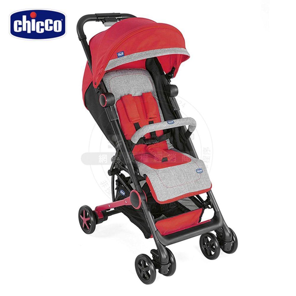義大利 chicco - Miinimo2輕量摺疊手推車-甜玫紅