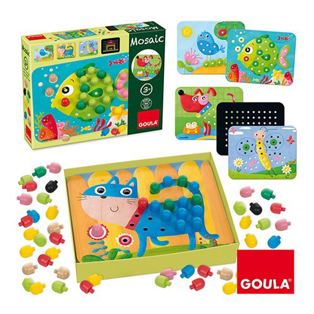 西班牙 GOULA - 豆豆拼拼樂-3歲以上