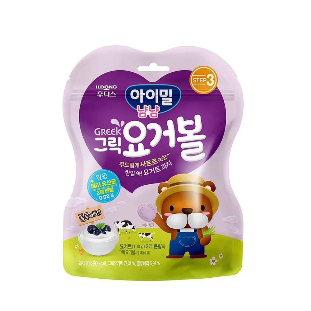 韓國Ildong Foodis日東 - 優格愛心餅-藍莓