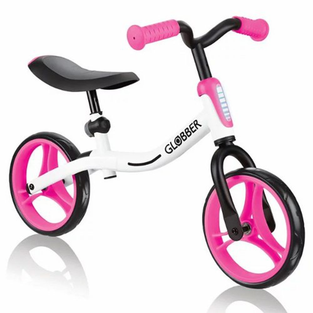 法國 GLOBBER - Go-Bike平衡車-白粉
