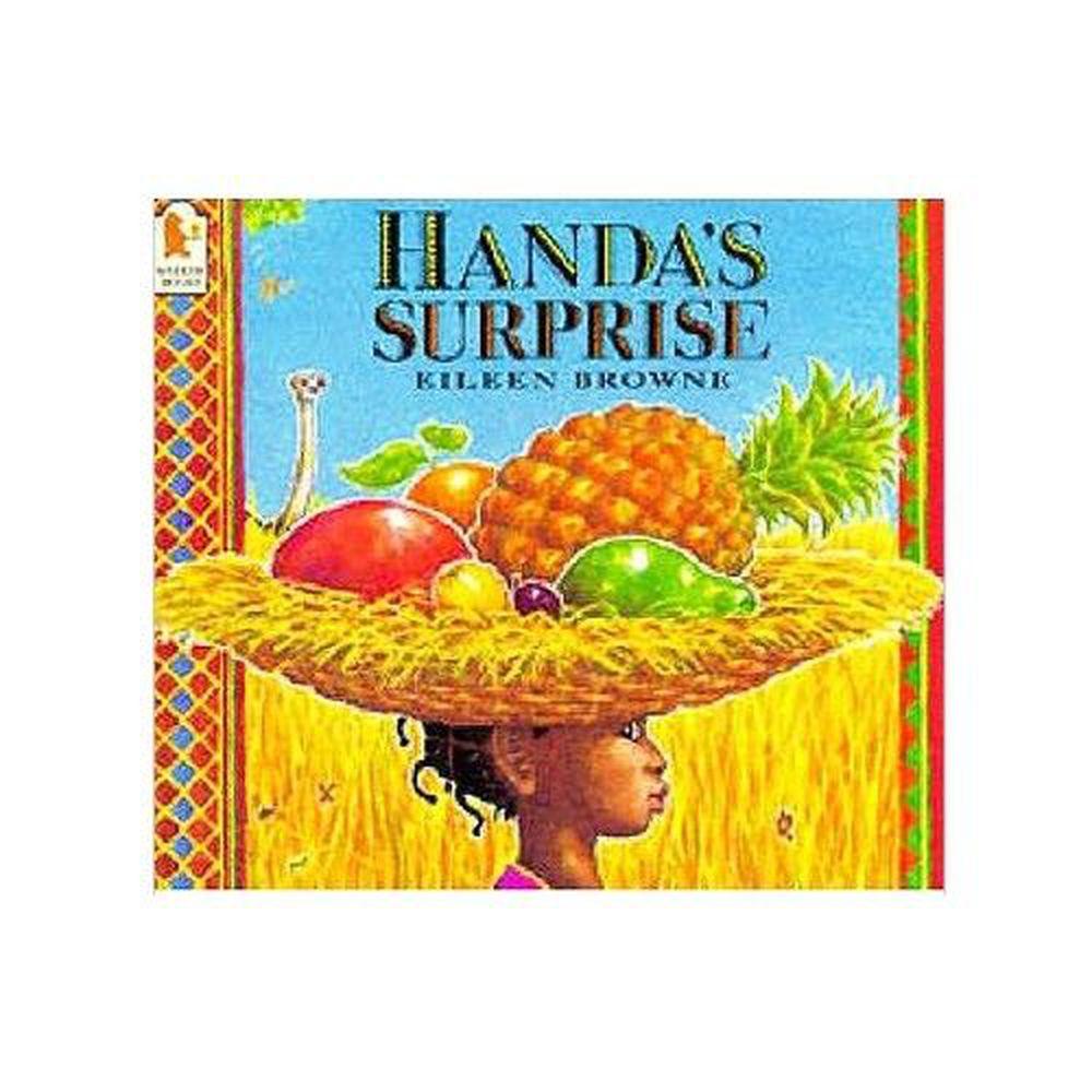 麥克兒童外文書店 - 有聲書-HANDAS SURPRISE/書+CD