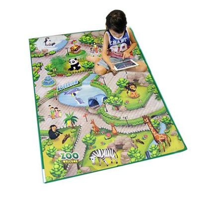 兒童安全遊戲地墊-實境3D互動學習(小)-海洋公園 (90 x 120cm)