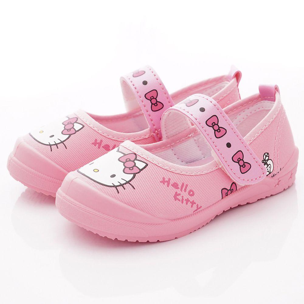HELLO KITTY - 印花休閒娃娃鞋款(中小童段)-粉