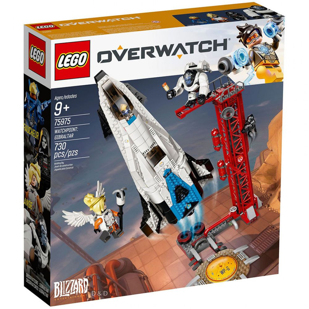 樂高 LEGO - 樂高 Overwatch 鬥陣特工系列 - Watchpoint: Gibraltar 75975-730pcs