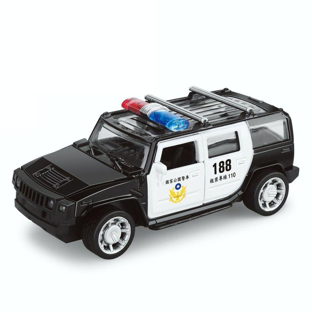 樂彩森林 - 聲光迴力警務用車-國家公園警車