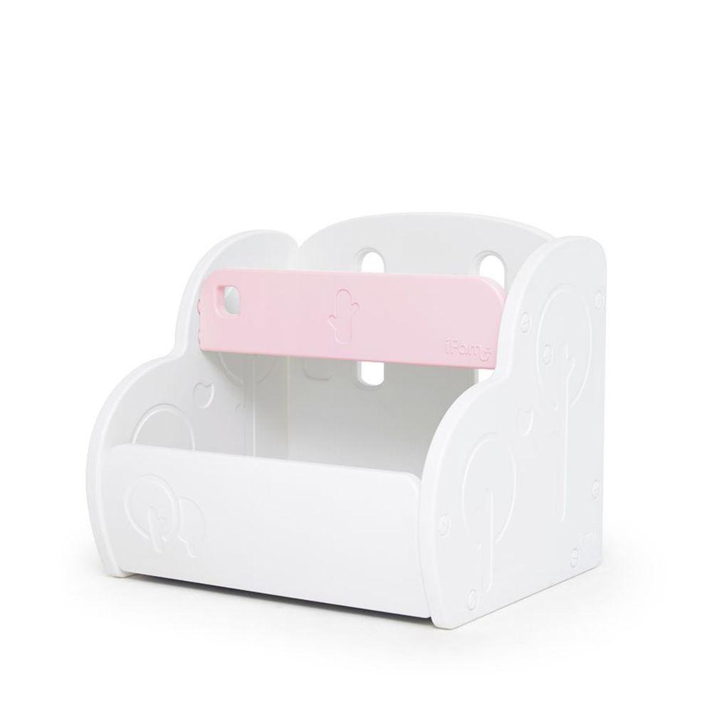 韓國 iFam - 多功能玩具收納櫃-粉紅色 (68cm x 60cm x 58.5cm)