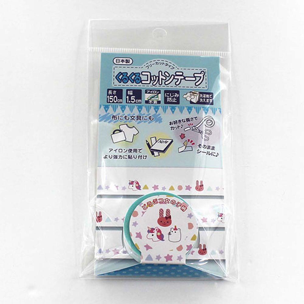 akachan honpo - 棉布膠帶15mm-獨角馬