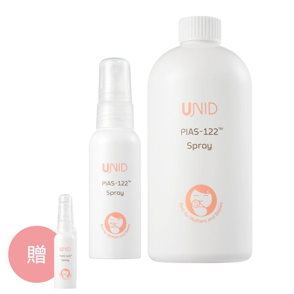 美國 UNID - 克流菌噴霧PIAS-122 Spray-500ml+50ml+贈10ml