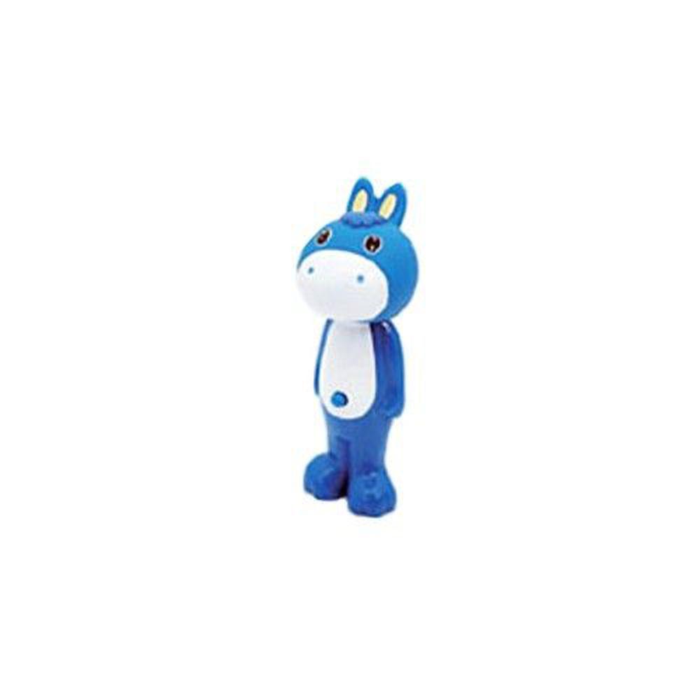日本 U-COMPANY - Bounce up 彈跳牙刷-小馬-藍