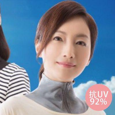 抗UV92%涼感圍脖-灰